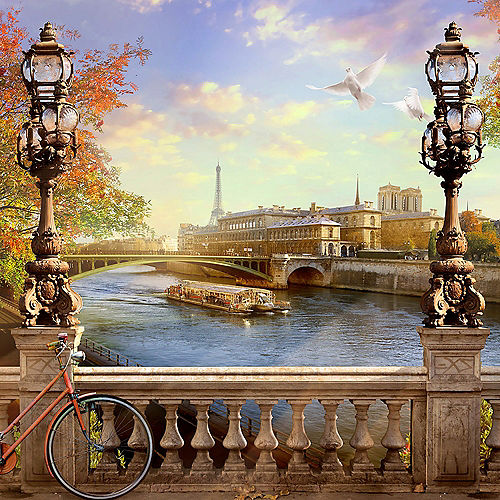 Paris Backdrop Standee Image #1