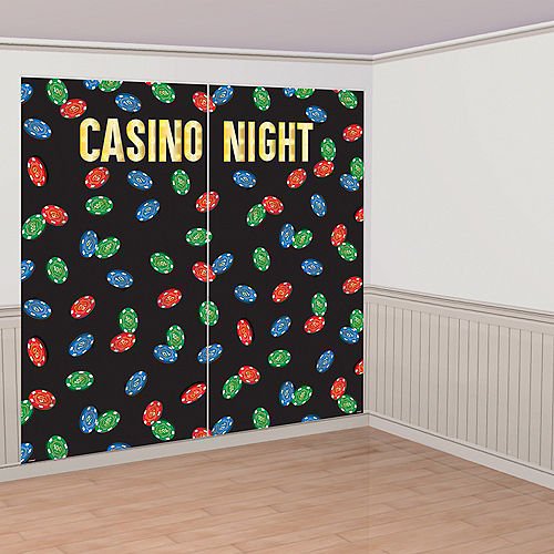 Roll the Dice Casino Photo Booth Backdrop Kit Image #2