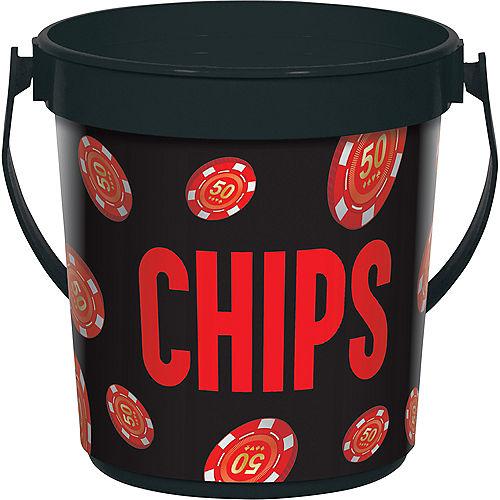 Roll the Dice Casino Chip Bucket Image #1