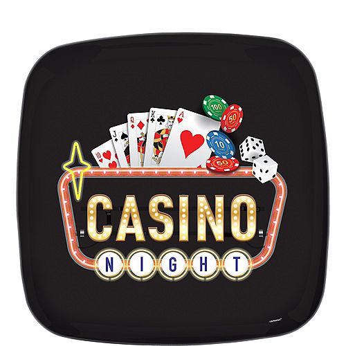 Roll the Dice Casino Square Platter Image #1
