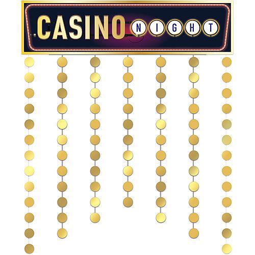 Roll the Dice Casino Doorway Curtain Image #1
