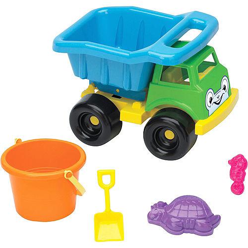 Beach Toy Truck Set 5pc Image #1