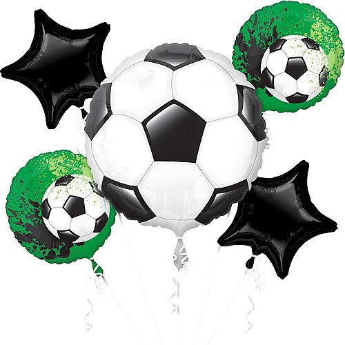 Goal Getter Balloon Bouquet 5pc Image #1