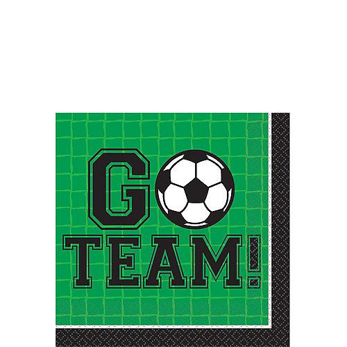 Goal Getter Soccer Beverage Napkins 36ct Image #1