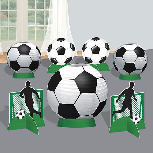 Goal Getter Soccer Table Centerpiece Kit 8pc Image #1