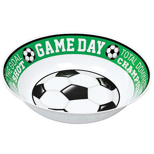 Goal Getter Game Day Soccer Serving Bowl Image #1