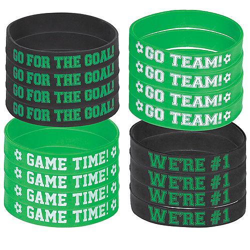 Goal Getter Soccer Wristbands 8ct Image #1