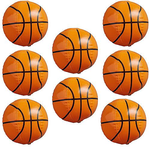 Inflatable Basketballs 8ct Image #1