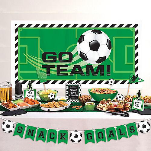 Goal Getter Soccer Buffet Decorting Kit 10pc Image #1