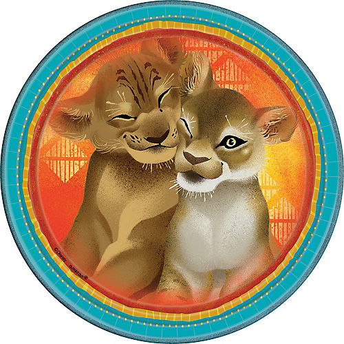 The Lion King Lunch Plates 8ct Image #1