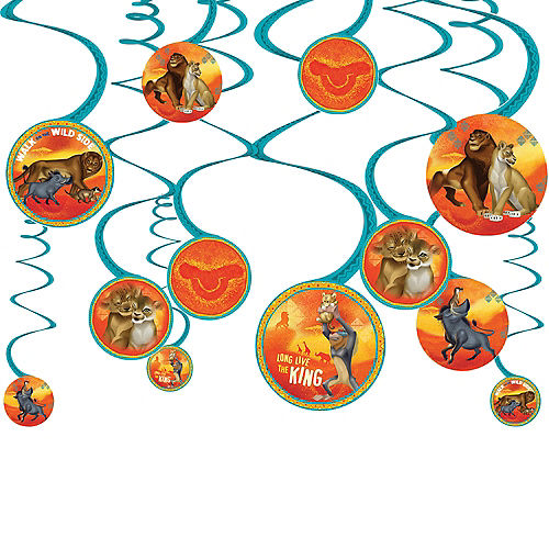 The Lion King Swirl Decorations 12ct Image #1