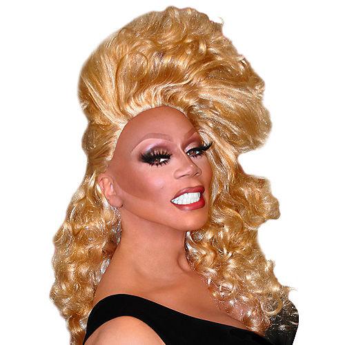 RuPaul Side Swept Away Wig Image #1