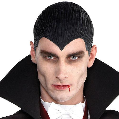 Latex Dracula Wig Image #1