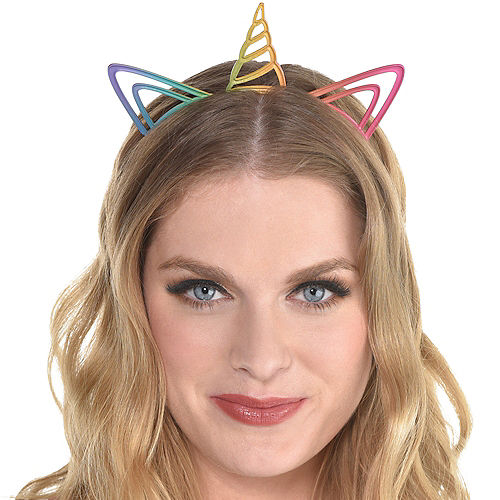 Rainbow Unicorn Headband Image #2