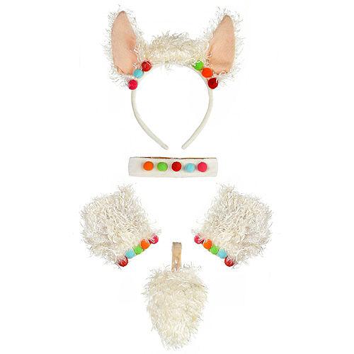 Child Llama Costume Accessory Kit Image #2