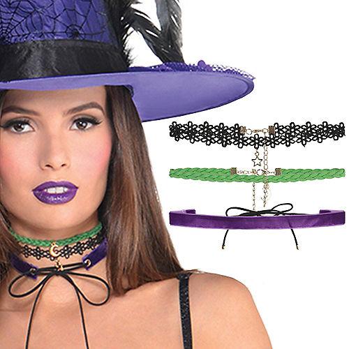 Witch Choker Set 3pc Image #1