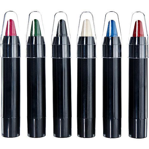 Jumbo Retractable Crayon Makeup Sticks 6ct Image #1
