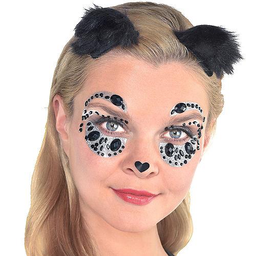 Panda Face Gem Kit with Ears 3pc Image #1