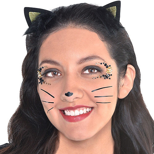 Cat Face Gem Kit with Ears 3pc Image #1