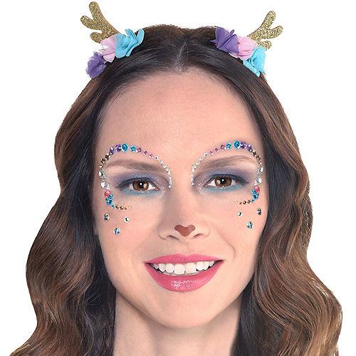 Deer Face Gem Kit with Horns 3pc Image #1