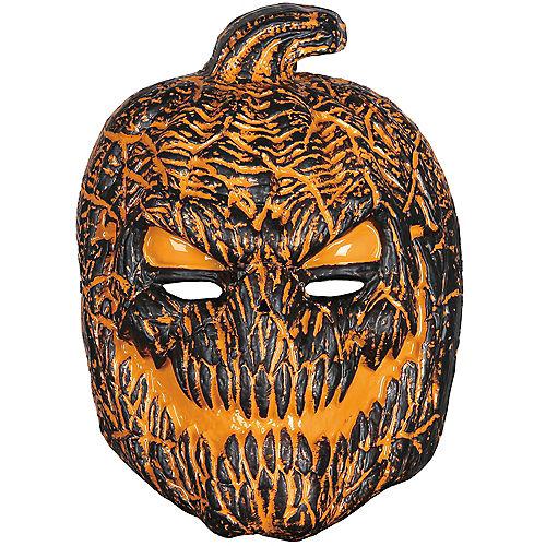 Light-Up Nightmare Scarecrow Mask Image #1