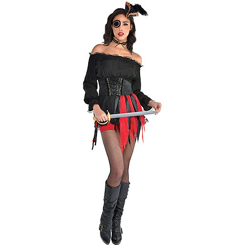 Pirate Maiden Costume Accessory Kit Image #1