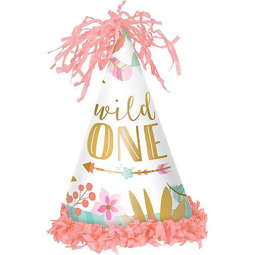 Boho Girl 1st Birthday Party Hat Image #1