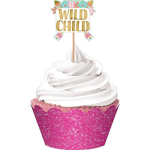 Boho Girl Cupcake Kit for 24 Image #1