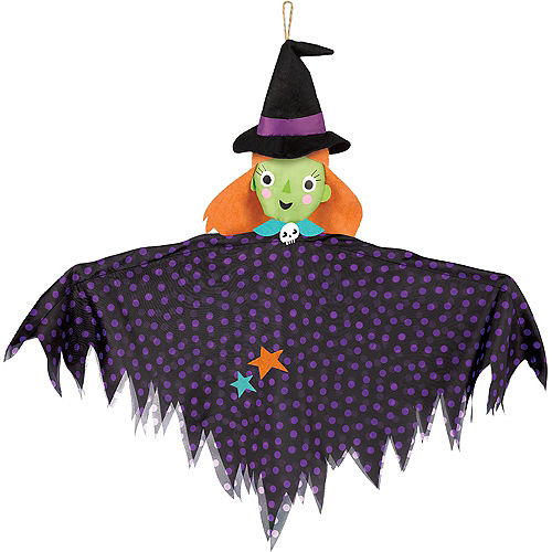 Small Friendly Witch Decoration Image #1