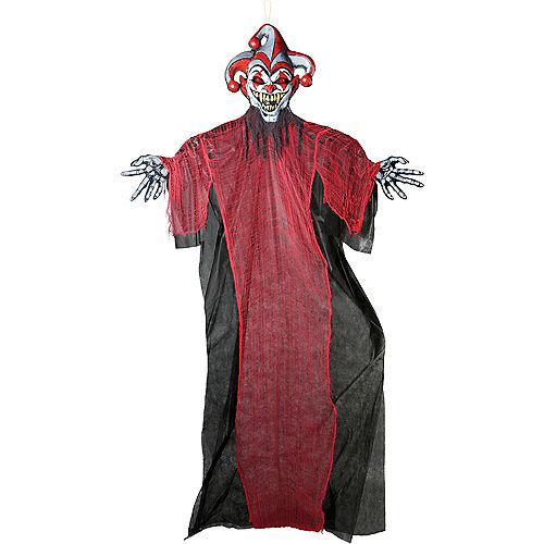 Light-Up Giant Creepy Jester Decoration Image #1