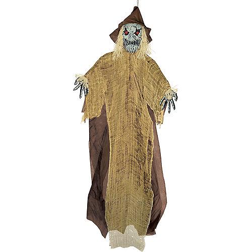 Light-Up Giant Evil Scarecrow Decoration Image #1