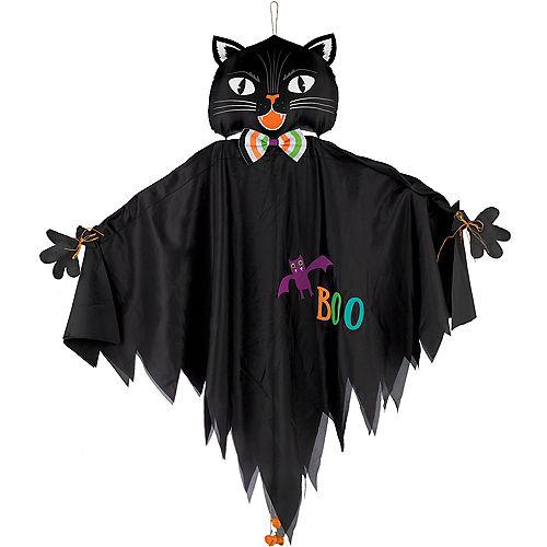 Friendly Black Cat Decoration Image #1