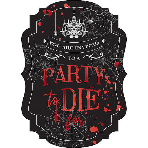 Dark Manor Invitations 8ct Image #1