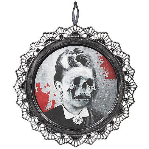 Dark Manor Skeleton Portrait Sign Image #1