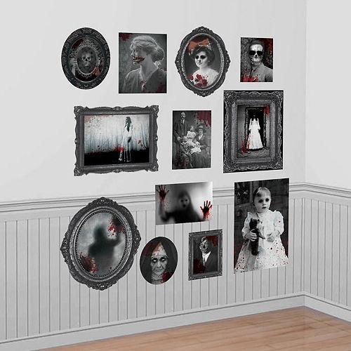 Dark Manor Frame & Picture Cutouts 30pc Image #1