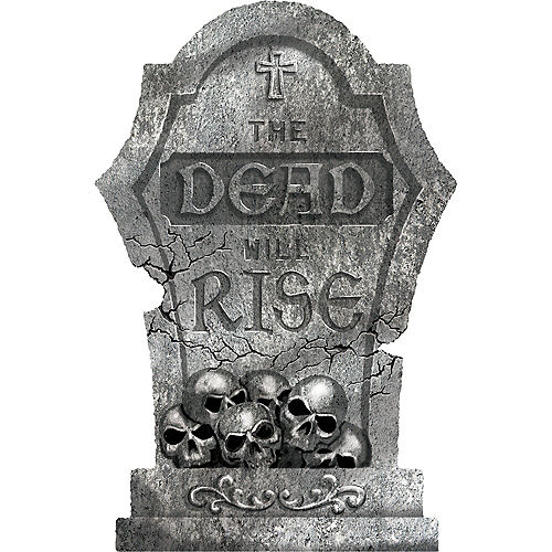 The Dead Will Rise Tombstone Image #1