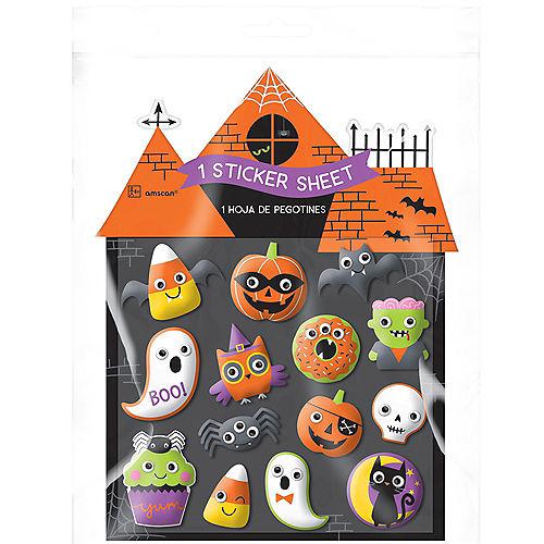 Halloween Puffy Stickers 1 Sheet Image #2