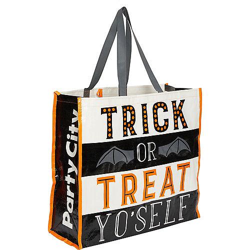 Trick-or-Treat Yo'Self Tote Bag Image #1