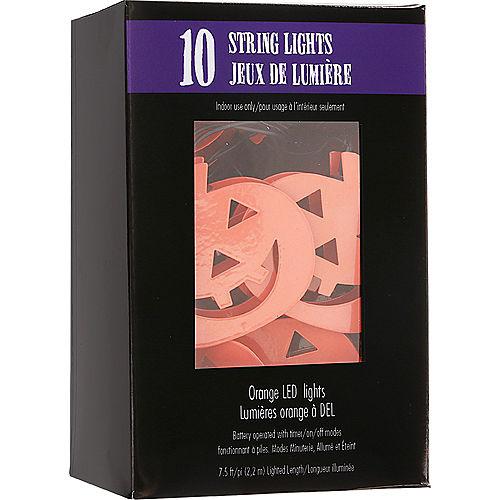 Jack-o'-Lantern LED String Lights Image #4