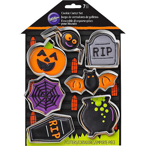 Wilton Halloween Cookie Cutter Set 7pc Image #2