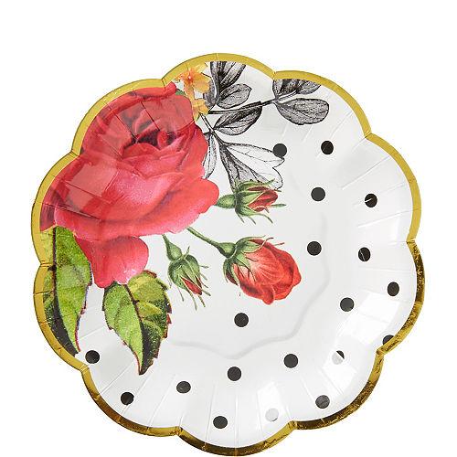 Pop Blush Rose Dessert Plates 8ct Image #1