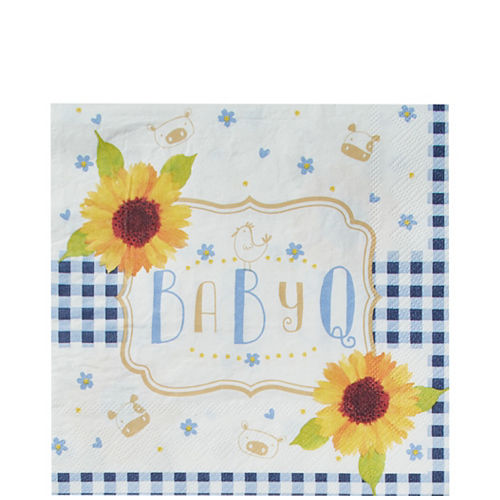 Baby Q Baby Shower Lunch Napkins 16ct Image #1