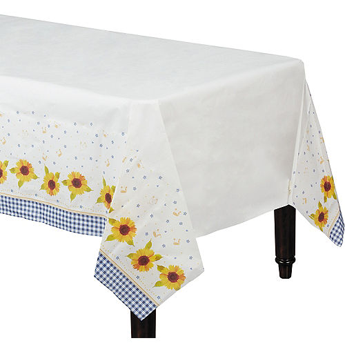 Baby Q Baby Shower Paper Table Cover Image #1