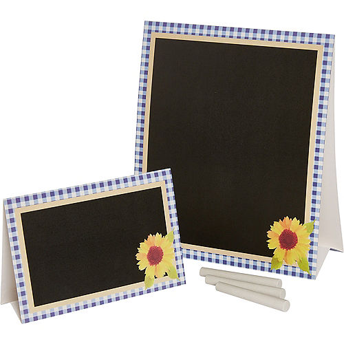 Baby Q Baby Shower Chalkboard & Tent Card Kit 17pc Image #1