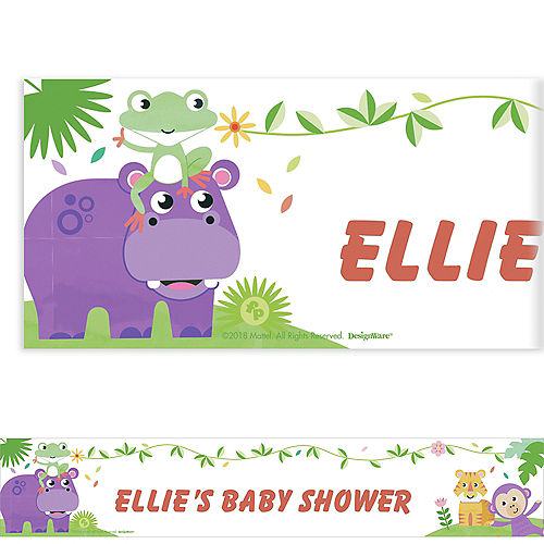 Custom Fisher-Price Hello Baby Banner Image #1
