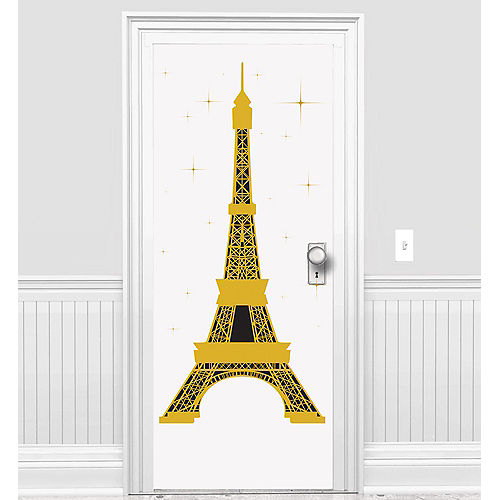 Eiffel Tower Door Cover Image #1