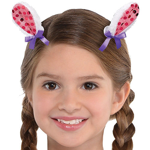 Clip-On Llama Fun Ears 2ct Image #1