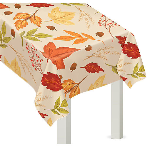 Fall Foliage Vinyl Table Cover Image #1