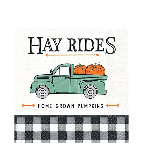 Harvest Fall Lunch Napkins 16ct Image #1
