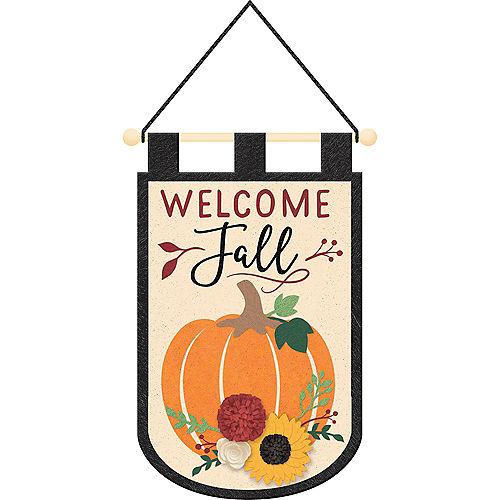 Felt Fall Harvest Sign Image #1